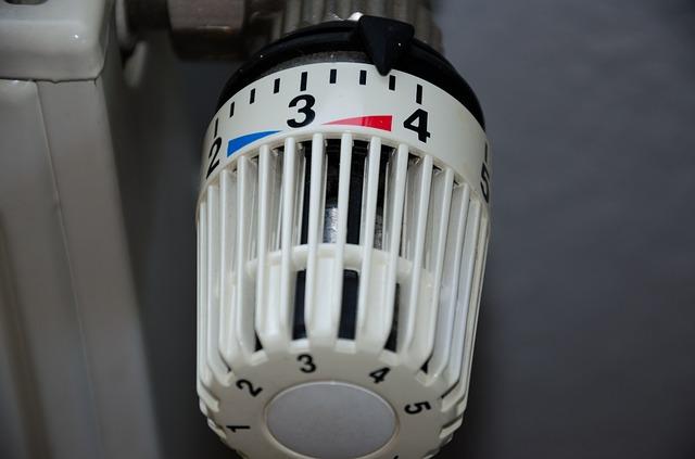 ovládání topení