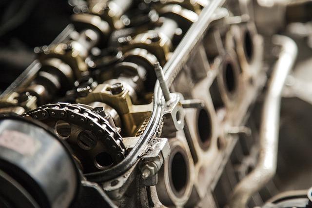 řetěz motoru