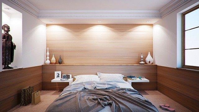 přírodně laděná ložnice