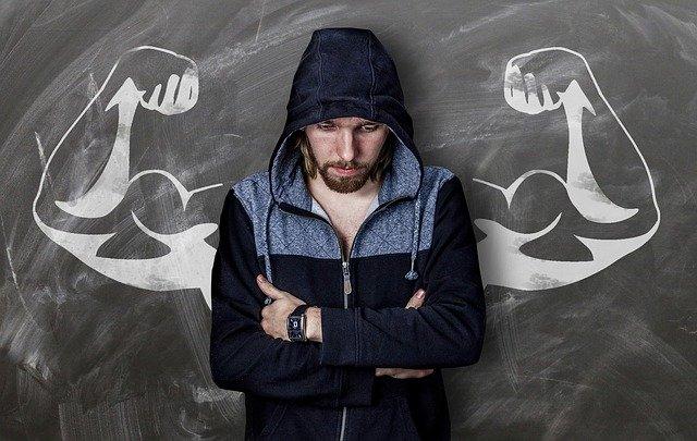 muž deska svaly