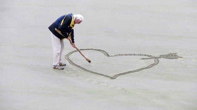 srdce láska muž