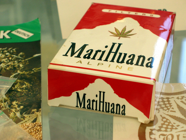 cigarety marihuany